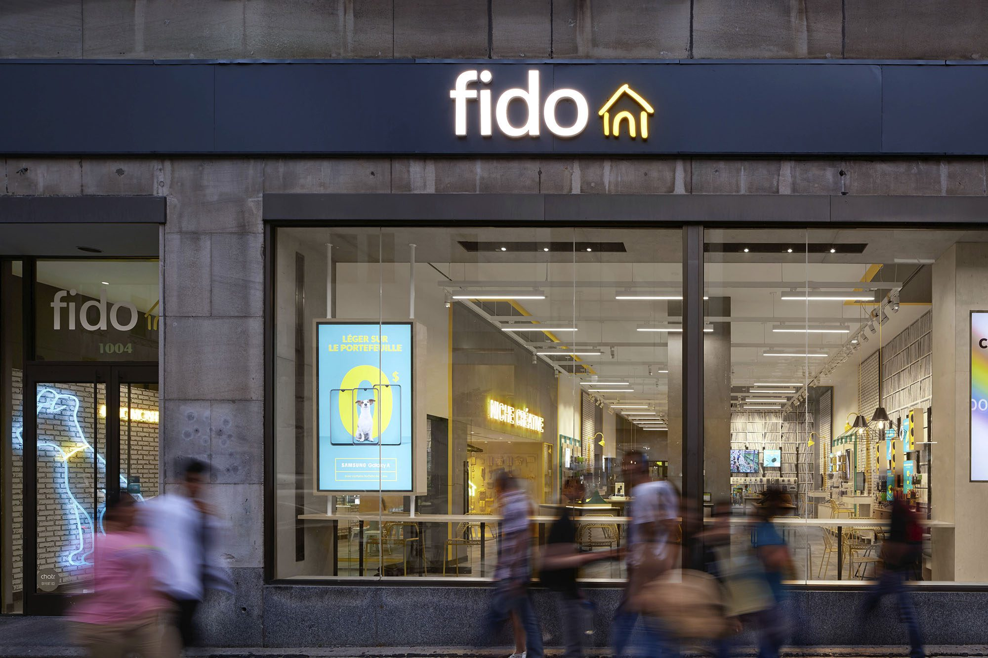 Fido, Montréal | 2019 Design Award Winner