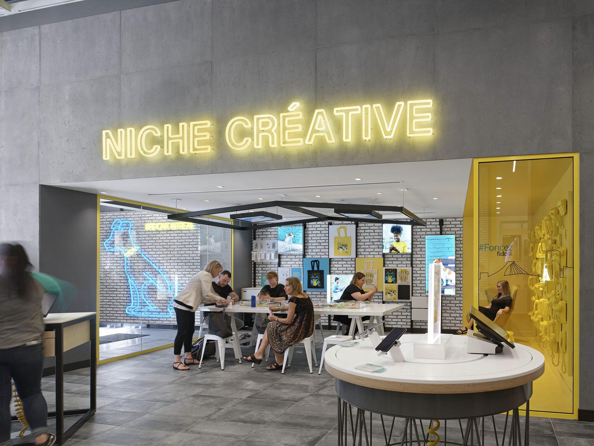 Fido, Montréal | 2019 Design Award Winner