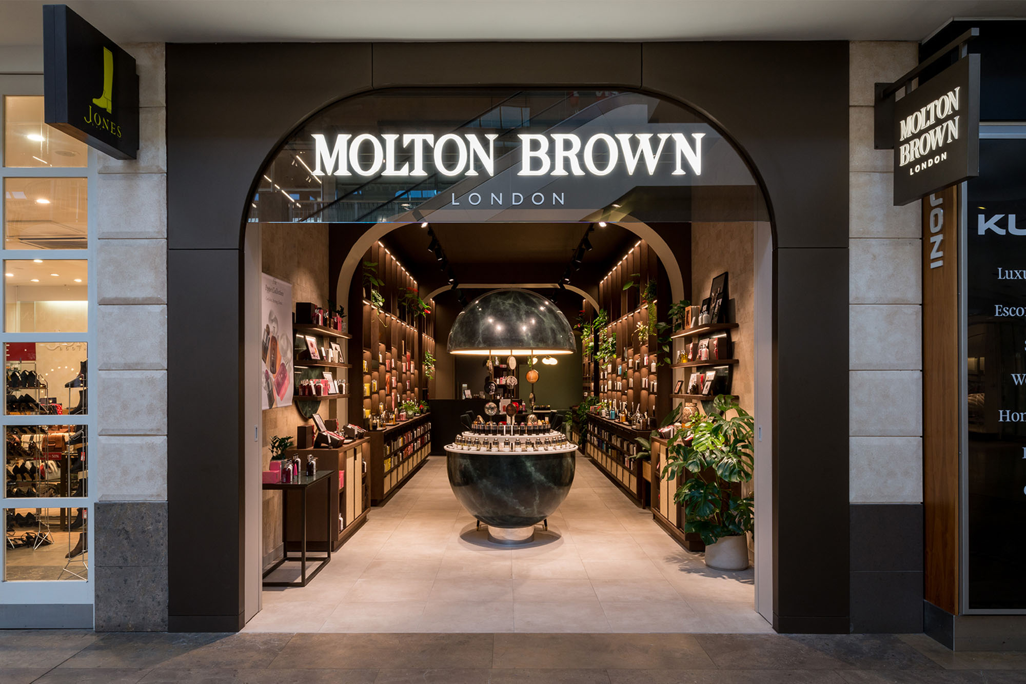 Molton Brown, Darford | 2019 Design Award Winner