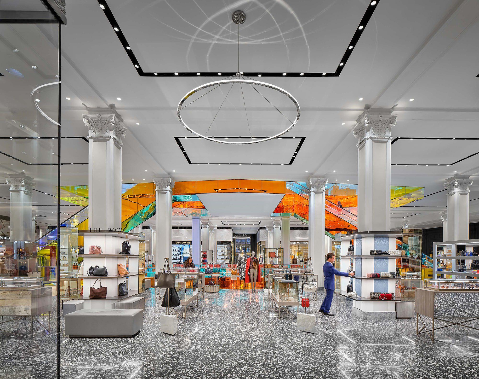 Saks Fifth Avenue, New York City, Cellar, Levels 1 & 2 | 2019 Design Award Winner