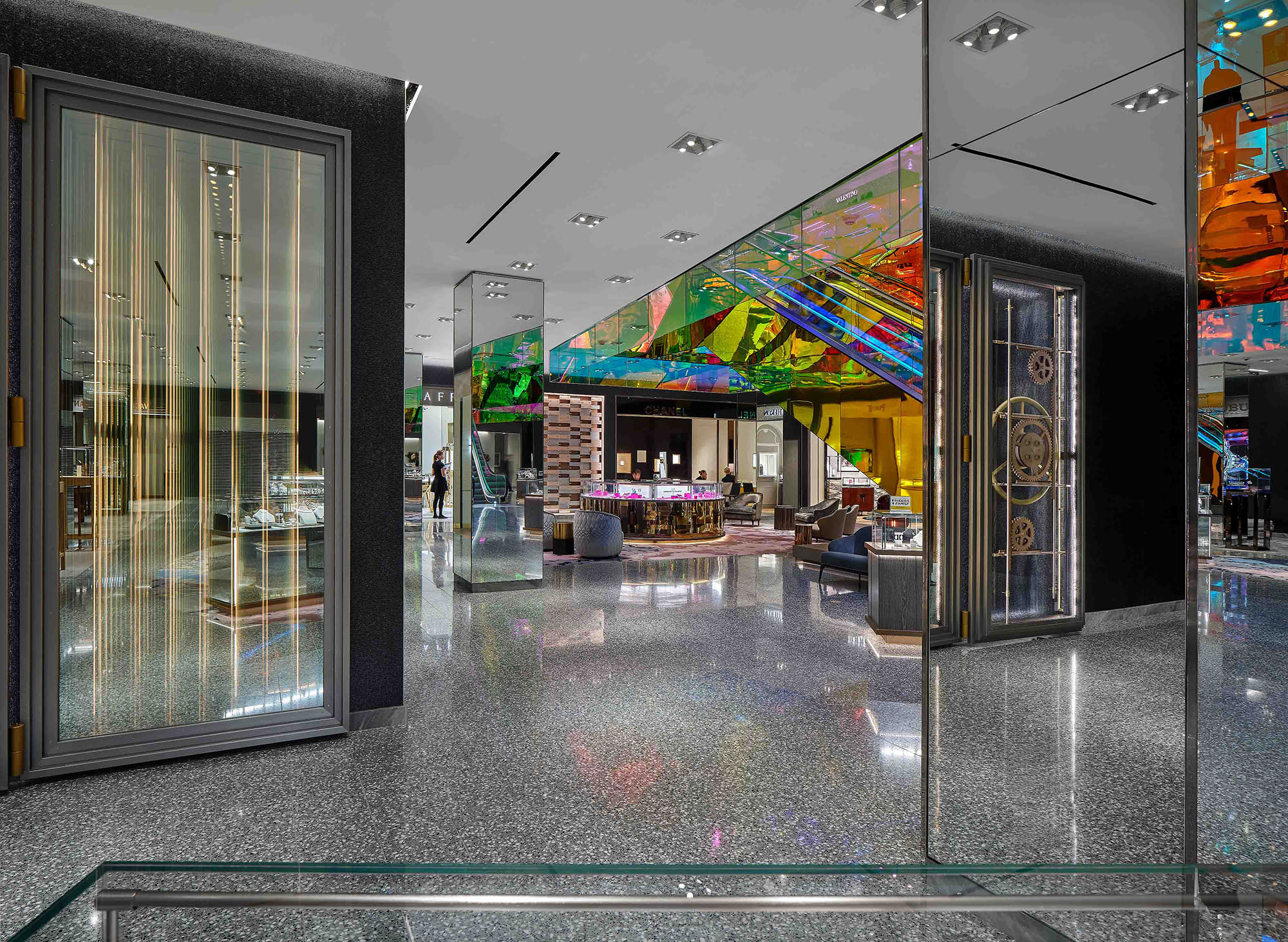 Saks Fifth Avenue, New York City, Cellar, Levels 1 & 2 | 2019 Design Award Winner