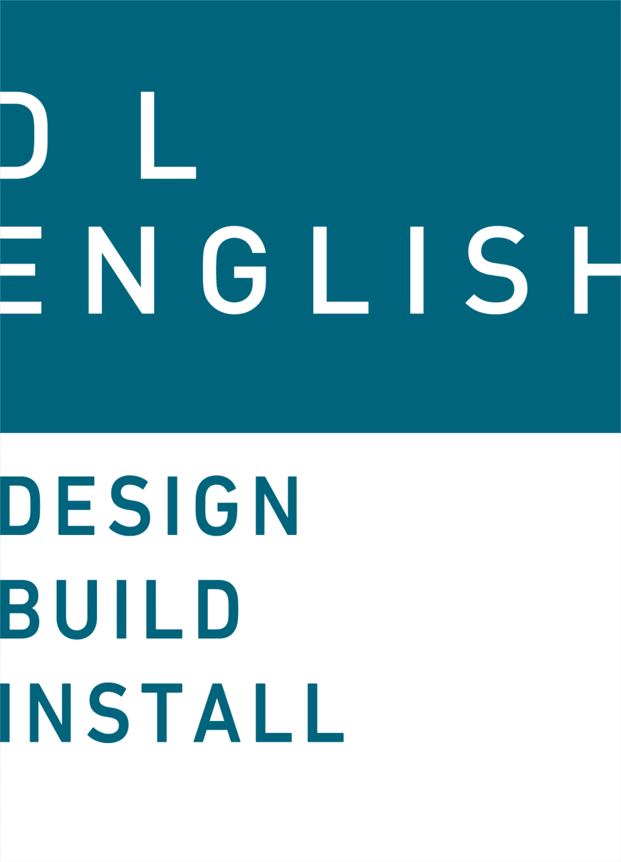 D L English Design logo