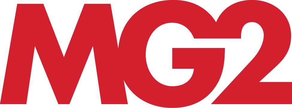MG2 retail design logo